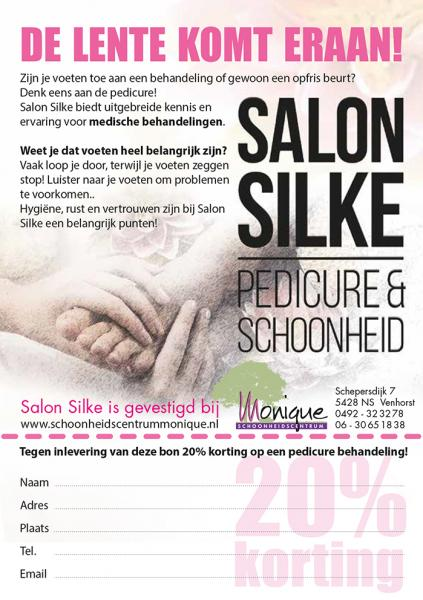 Salon Silke flyer