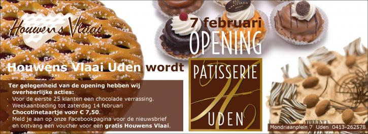 Patisserie advertentie